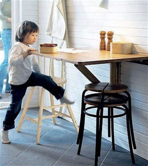 ideas   small folding tables   kitchen