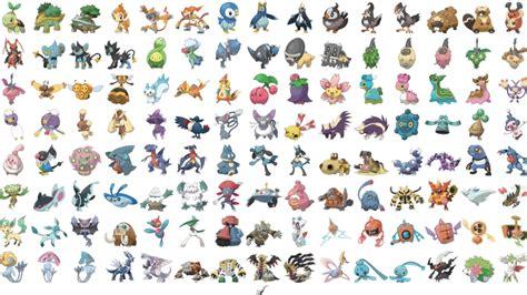 pokemon  gen  liste alle pokemon mit werten release