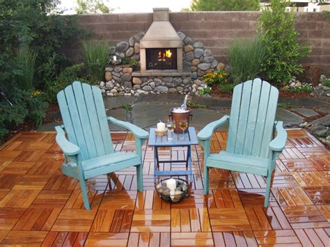outdoor chimney pit and chairs ideal outdoor
