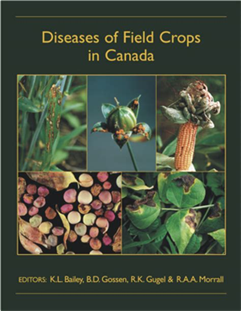 Diseases Of Field Crops In Canada, 3rd Edition, Second