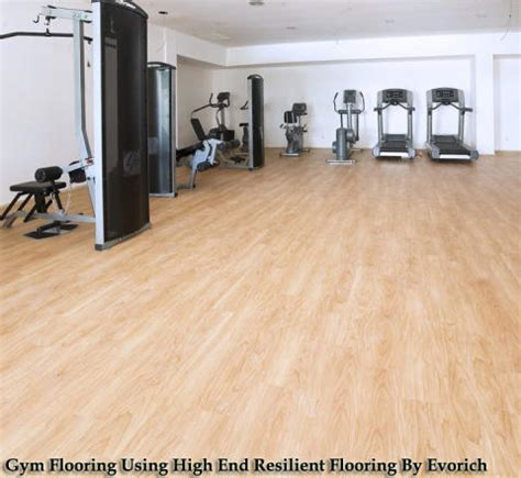 high end resilient flooring for gyms evorich flooring