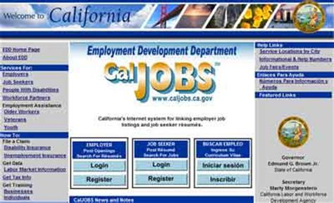 Edd Caljobs Update Resume by Caljobs Login The Knownledge