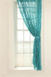 Shower Curtain Turquoise Image