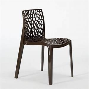 Chaise Grand Soleil : chaise plastique cuisine nid d 39 abeile salle manger empilable gruvyer grandsoleil ebay ~ Teatrodelosmanantiales.com Idées de Décoration