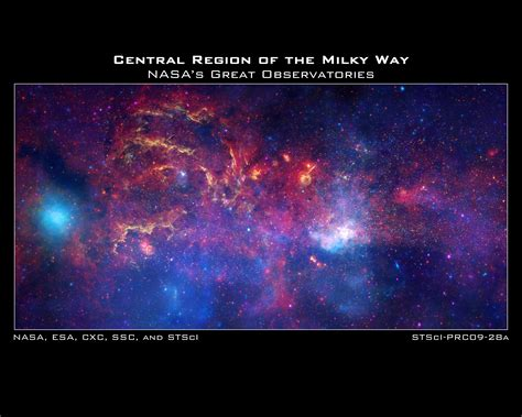 Welcome To The Heart Of The Milky Way Universe Today
