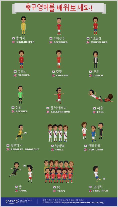 english  korean soccer terms esl resources