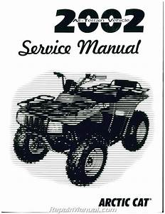 2002 Arctic Cat All Atv Service Manual