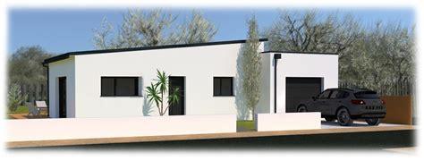 maison moderne en acier de plain pied