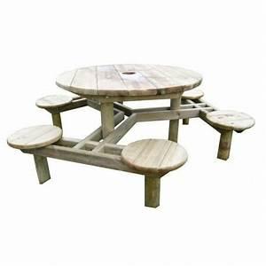 Table Bois Pique Nique : tables publiques en bois tous les fournisseurs table urbaine bois table ville bois table ~ Melissatoandfro.com Idées de Décoration