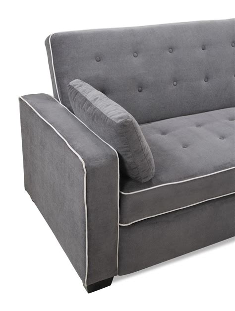 Cing Sofa Bed by Augustine King Size Sofa Bed Moon Grey By Serta Lifestyle