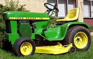 John Deere 110 Lawn And Garden Tractor Service Manual
