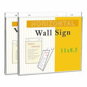 Wall Mount Sign Holder by Universal® UNV76883 ...