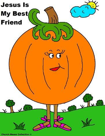 pumpkin coloring page jesus    friend