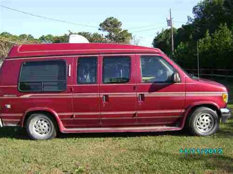 Sell Used 92 Ford E150 Handicap Van In Beaufort, North