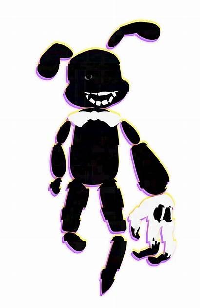 Bonnie Shadow Bunny Funny Stylised Hide