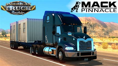 american truck simulator mack pinnacle youtube