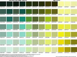 Pantone cheat sheet #9 | Green, Lime, Chartreuse ...