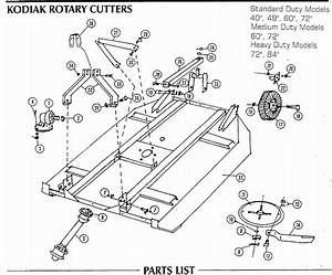 30 Bush Hog Parts Diagram