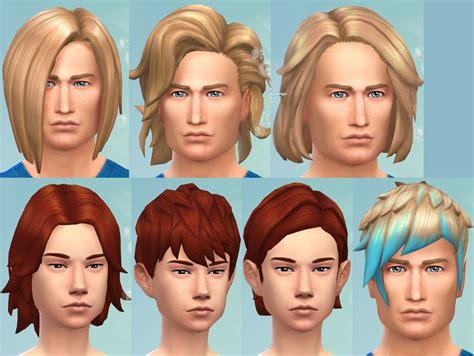 mod  sims gender hairstyle conversion  mesh edit