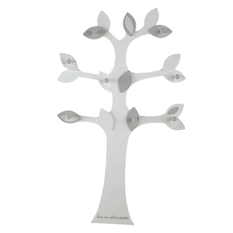 maison du monde patere pat 232 re arbre 8 crochets gris h 80 cm songe maisons du monde