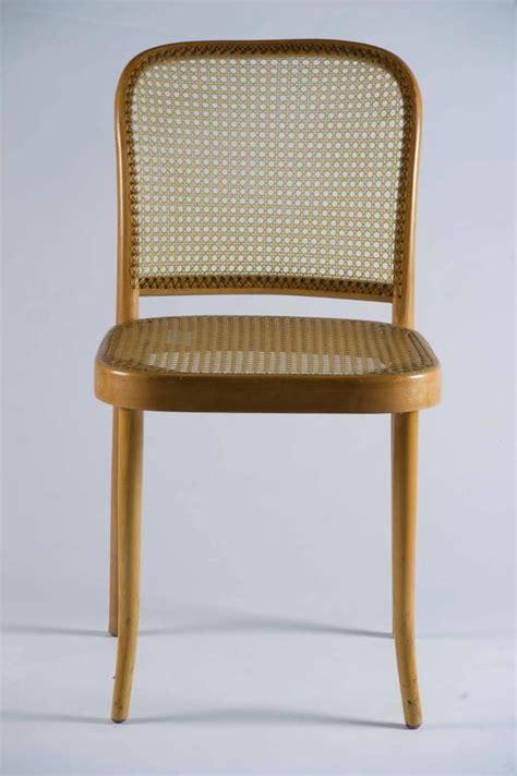 set of six josef hoffmann quot prague quot bentwood chairs for