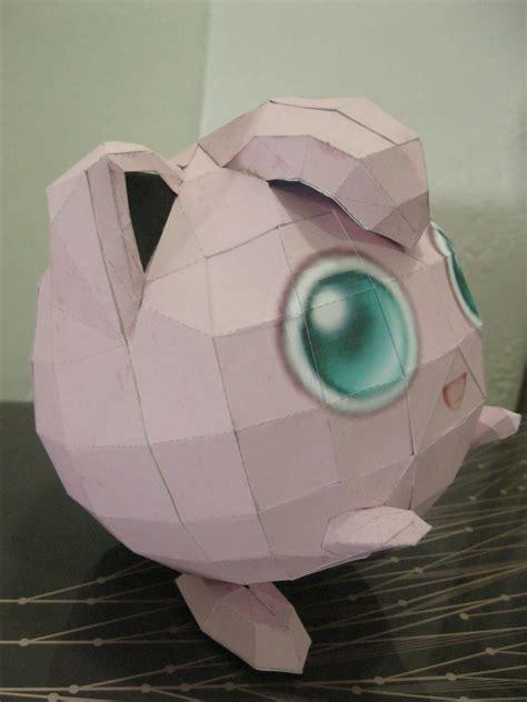 pokemon jigglypuff paper craft     paper