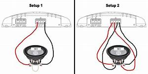 dual voice coil sub wiring diagram dual 2 ohm sub wiring With 4 ohm sub wiring diagram