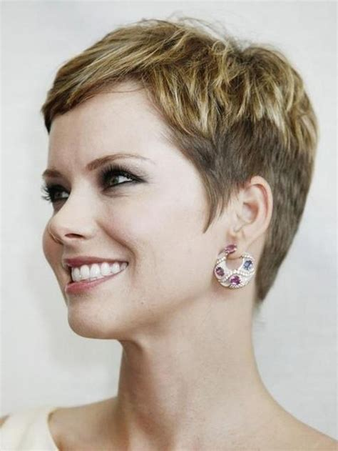 Classic Pixie Cut Great for Mature Women Over 30