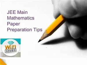 Maths Study Plan For Iit Jee 2015