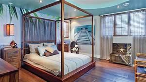 Decoration chambre theme plage for Amenagement chambre ado avec matelas ferme mal de dos