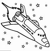 Rocket Coloring Ship Space Shuttle Challenger Pages Print Rockets sketch template