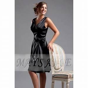 dress noir mystere With robe mystère