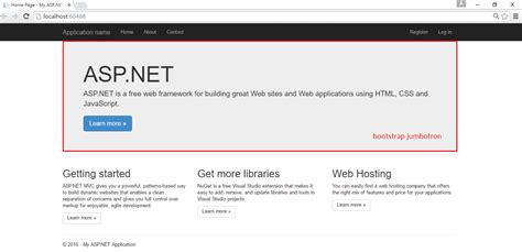 Asp Net Mvc 4 Bootstrap Layout Template by Asp Net Mvc Application With Custom Bootstrap Layout