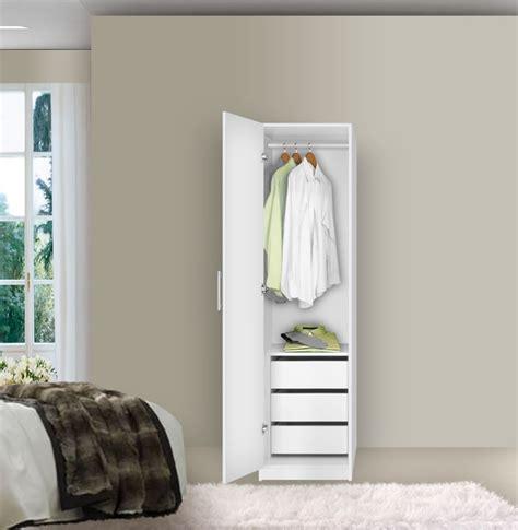 alta narrow wardrobe closet left door 3 interior