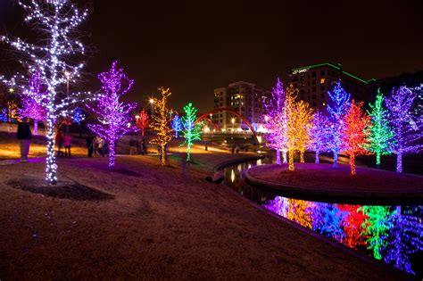 vitruvian christmas lights dfw living   cheap