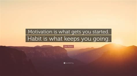 jim rohn quote motivation     started