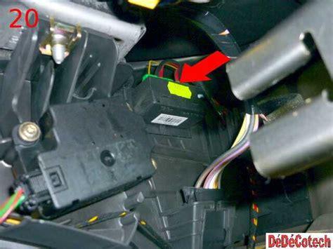 siege auto gr 2 3 changer la résistance de ventilation habitacle scénic ii