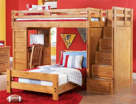 beds that have a desk underneath bunk bed with desk underneath with stairs and drawers