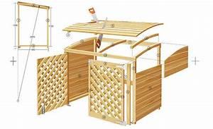 Mülltonnenverkleidung Selber Bauen : m lltonnenbox m lltonnenbox m lltonne und g rten ~ Watch28wear.com Haus und Dekorationen