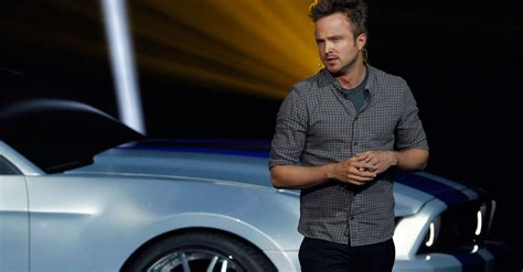aaron paul in need for speed aaron paul has a need for speed in new movie trailer video