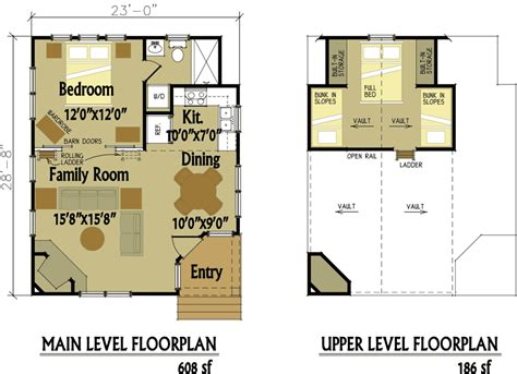 small cabin designs  loft small cabin floor plans