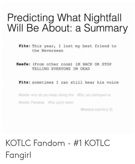 Wow, i had a lot of fun making this. ️ 25+ Best Memes About Kotlc | Kotlc Memes