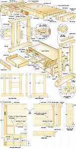 woodworking plans portable workbench woodproject
