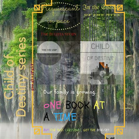 Darcy Family Holidays 2 Book Series by Child Of Destiny The Series Stagnation And Fatigue Just