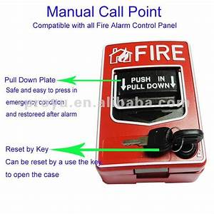 Conventional Fire Alarm System 2 Wire Manual Call Point