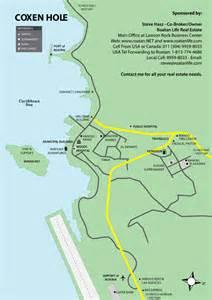 Roatan Bay Islands Honduras Map