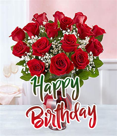 Happy Birthday Roses Images Happy Birthday Roses Images Www Imagenesmy