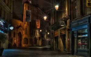 Urban, Street, Lights, Architecture, Building, Night, City ...