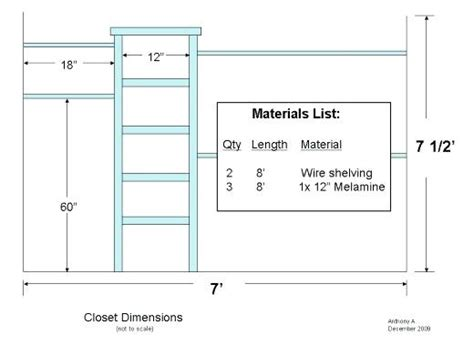 closet bar height closet rod length dandk organizer