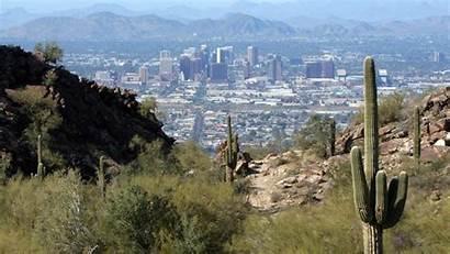 Phoenix Desert Arizona Desktop Wallpapers Cactus Earth